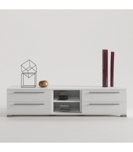 Nantes Mueble TV con pata base y tirador Line